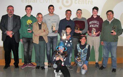 Nel Pla campió del XIV Obert d'escacs d'Igualada i l'Anoia