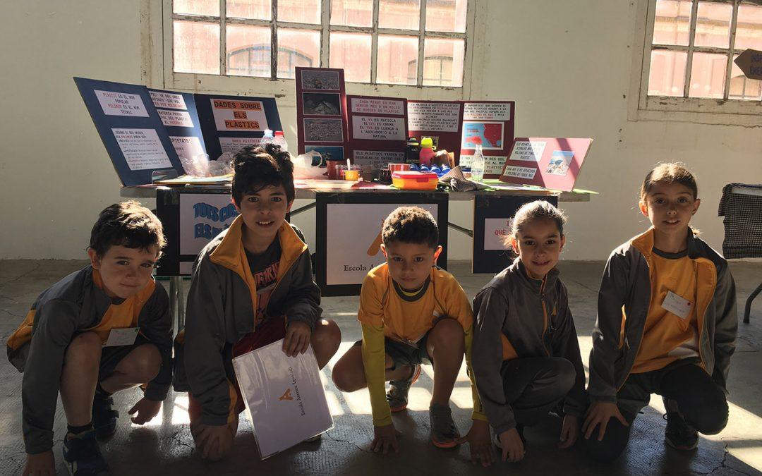 L'escola de l'Ateneu a la Fira de mostres d'escoles verdes
