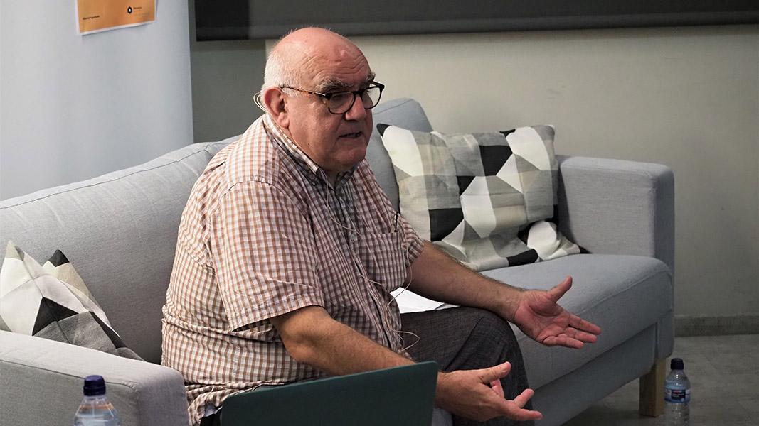Manuel Delgado… el visitant de l'octubre