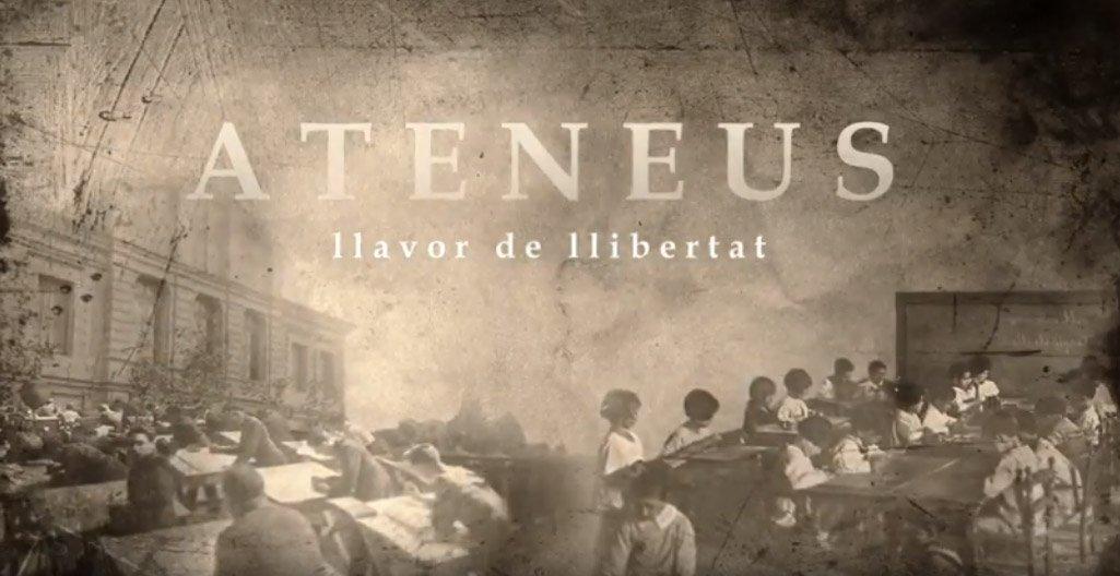 'Ateneus, llavor de Llibertat' es projecta dins el ZOOM Festival