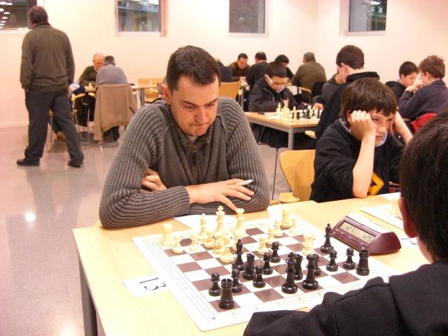 Inici del XVè Torneig d'Igualada d'Escacs